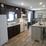 Muskogee mobile home kitchen