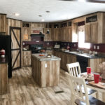 Lariat mobile home kitchen